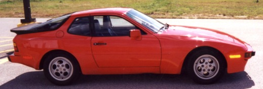 A 1987 Porsche 944. Photo credit www.seriouswheels.com