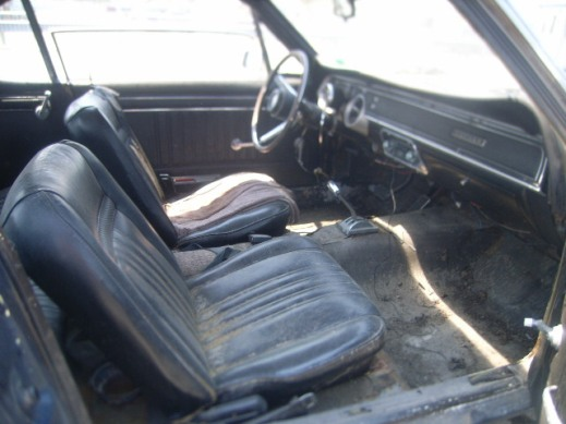 Interior Mercury Cougar