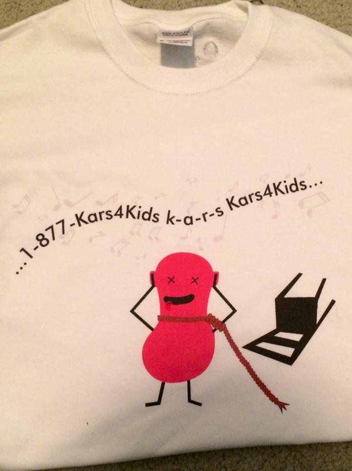free t shirt for a fan kars4kids blog. Black Bedroom Furniture Sets. Home Design Ideas