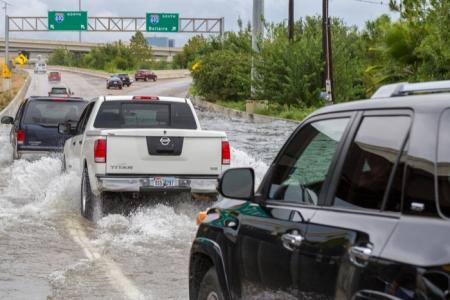 Hurricane Harvey cars