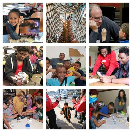 photos of kids from 7 kars4kids small grant recipients
