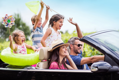 Family summer road trip