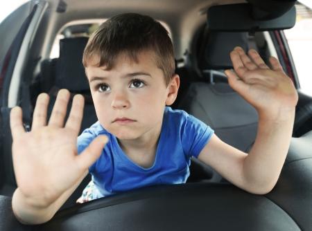 child left behind in car