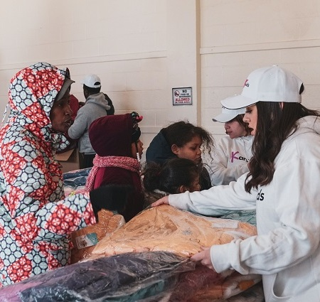 Kars4Kids winter wear distribution MLK Far Rockaway 2020